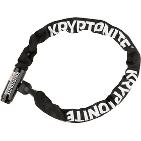 Kryptonite Keeper 785 Integrated Chain Łańcuch rowerowy z zamkiem, black